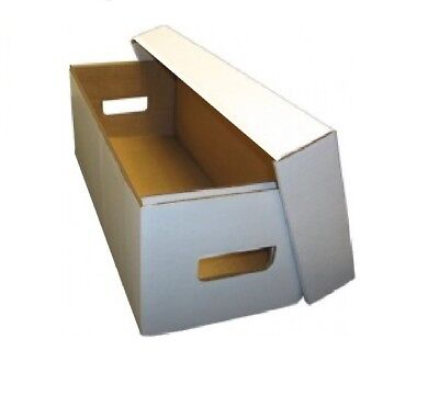 Bundle / 10 Max Pro DVD / Media / Manga White Cardboard Storage Boxes box