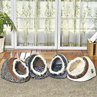 Pet Dog Bed Warm Dog Cat Nest Bed Fashion Cave Puppy Cushion Kennel 5 Styles