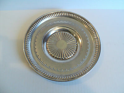 """Classic Vintage Lipiman Bros. Canadian Sterling Silver 9.5"""" Platter / Tray"""