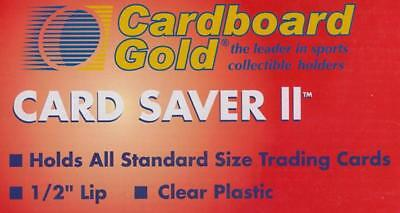 1000 CBG Card Saver II / 2 Semi Rigid Baseball Trading Card Holders New Improved