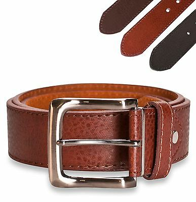 "Genuine Hawkdale 1.5"" Mens Leather Belt Belts Jeans 40mm Real 821-400"