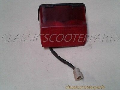 Suzuki 1989 GS500 tail stop light faded lens s89-gsx500-040