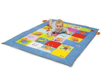 Taf Toys I LOVE BIG MAT Baby/Child Extra Large Tummy-Time Activity Play Mat