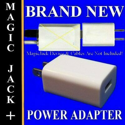 Replacement Power Supply Plug Adapter Fix For Majic Magic Jack Plus 2014 GO 2015