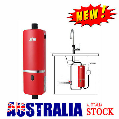 Portable Instant Hot Water Heater Electric Heating Shower System Fast Heating