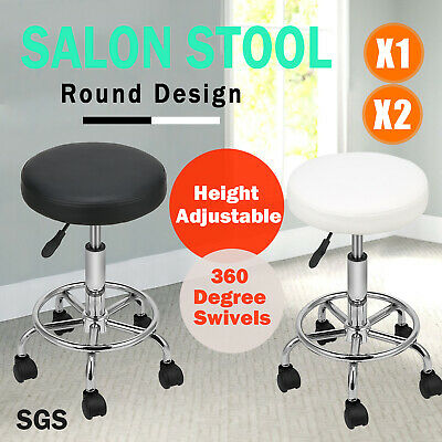 Salon Barber Stool Massage Hairdressing Chair Swivel Equipment Hydraulic Lift