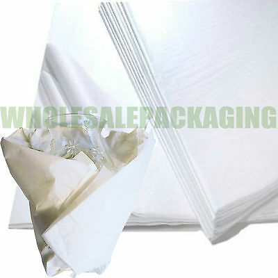 "WHITE ACID FREE TISSUE PAPER 18x28"" WRAPPING PACKING TISSUE PAPER"