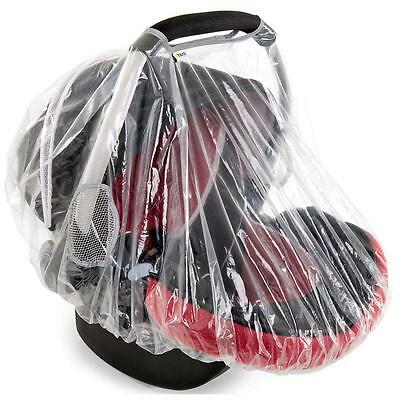 Hauck RAINY Group 0 Car Seat Rain Cover Baby/Child Safety Travel Accessory BN