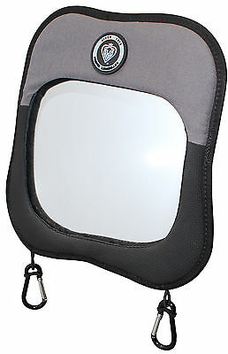 Prince Lionheart BABY/CHILD VIEW MIRROR BLACK/GREY Car Safety Accessory BN