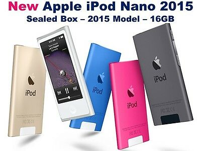 Apple iPod Nano 7th Generation - 16GB Touch (Latest Model) *New*