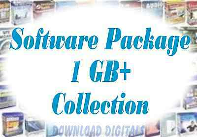 Software Collection on DVD, Development, marketing, and traffic programs, Resell