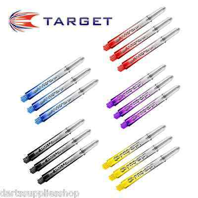 5 Sets of Pro Grip Vision Nylon Stems Shafts with Grip Rings by Target