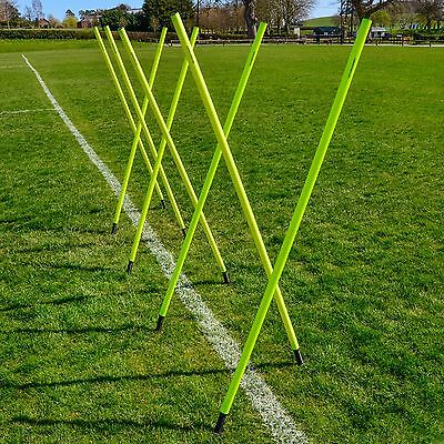 Spring Loaded Slalom Poles 6FT - 16 pack | Agility/Speed Training