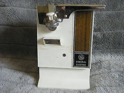 Vintage General Electric GE Electric Can Opener 1970's