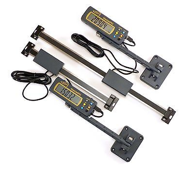"Igaging 2 pc set 6"" & 12"" 150 & 300 mm Absolute Digital Readout/Read Out DRO"