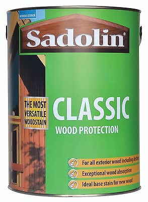 Sadolin classic Woodstain 20LT drum     (New)  All available Colours
