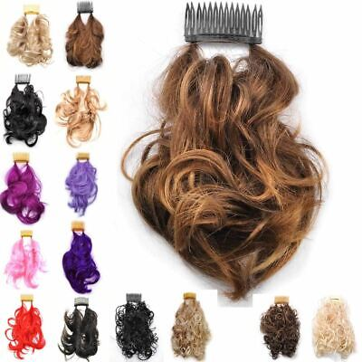 Invisible comb with wire Hair extensions, hair piece wire in various styles