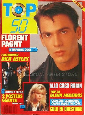 Top 50 n°112 - 1988 - Florent Pagny - Johnny Clegg - France Gall - Cock Robin