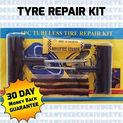 Car Van Tyre EMERGENCY PUNCTURE Repair Kit With 21 Strips