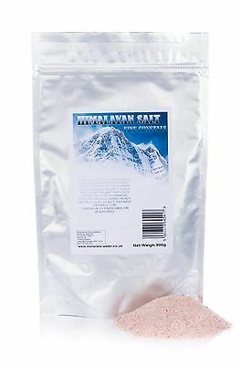 500g Himalayan Salt fine crystals•Pink•Suitable for food use•Natural&pure•
