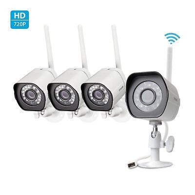 Funlux® 8CH NVR 720P WiFi Wireless Outdoor IR Home Security Camera System 1T