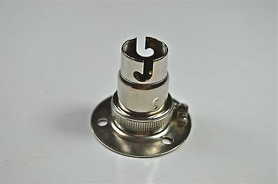 Nickel Small Bayonet Batten Fitting Bulb Holder Lamp Holder Table Light Top L8