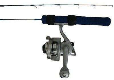 "Ht 30"" Ice Blues Light Action Ultra-Fast Tip Ice Fishing Rod Reel Combo Ib-30Sc"