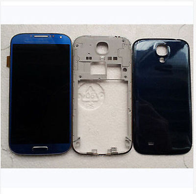 Artic blue Housing Lcd Screen Touch Lens Digitizer for Samsung Galaxy S4 i9505