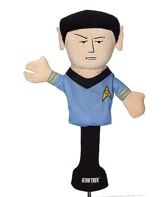 New - Creative Covers for Golf - Star Trek, Commander Spock Club Head Cover