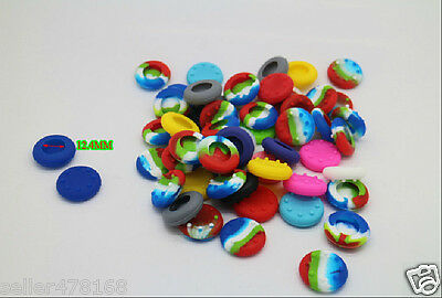 200x colors 12.4mm Joystick Thumbstick Silicone Cap for Playstation PS3 Xbox 360