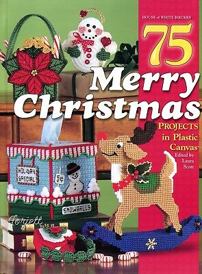 75 Merry Christmas Projects plastic canvas holiday patterns OOP new