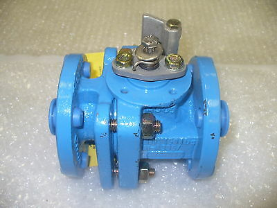 "FLOWSERVE Plug Valve 150#, RF, CS BODY, TFE LINED Size: 1"" IN"