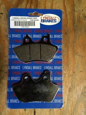 Lyndall LRB 7195 Gold Plus FRONT Brake Pads for Harley 00-07 FXD Dyna