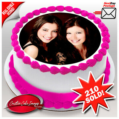 Custom Photo Edible Icing Image Personalised Birthday Cake Decoration Topper