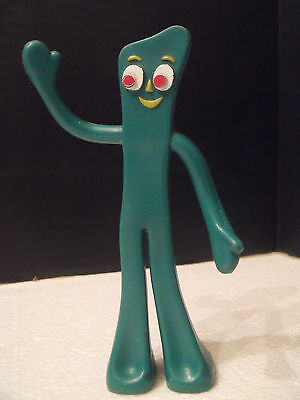 "1988 Gumby Prema Toy by Playskool 5.5"" tall Bendable WOW"