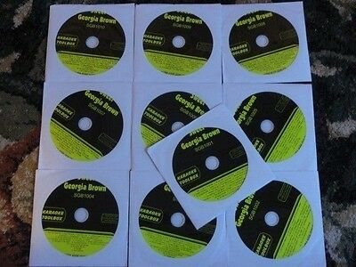 10 Cdg Discs Classic Karaoke Set Best Songs Rock,Pop,Country *2020-2021 Sale*