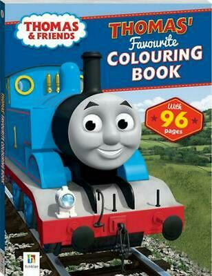 Thomas and Friends Thomas' Favourite Colouring Book Paperback Book Free Shipping