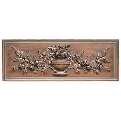 Hickory Manor French Floral Plaque/Brandywine - 2632BD