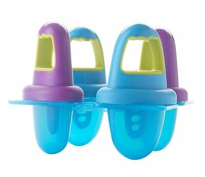 Annabel Karmel by NUK 4 ICE LOLLY MOULDS Baby/Child/Kids Feeding Accessory BN