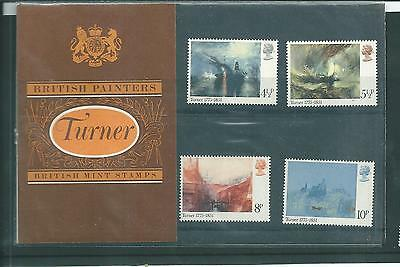 Gb - Presentation Packs - 1975 - Birth Bi-Centenary - Jmw Turner