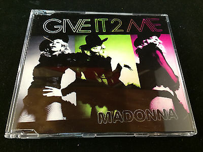 Madonna - Give It 2 Me - CD Single - Edit - Promo - Import