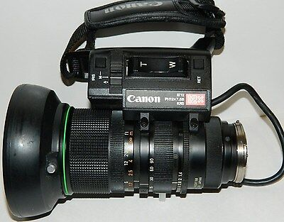 Canon PH12 7.5 -90B KRS IX12  Lens with servo or manual zoom EXCELLENT CONDITION