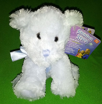 Russ Shining Stars plush Blue Teddy Bear