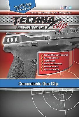 Techna Clip, Gun belt clip for Smith & Wesson M&P models - Conceal Carry holster