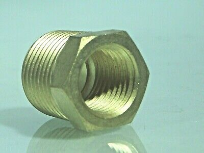 Male NPT - Female BSP BRASS Reducing Bush BSP to American Adapters male-female