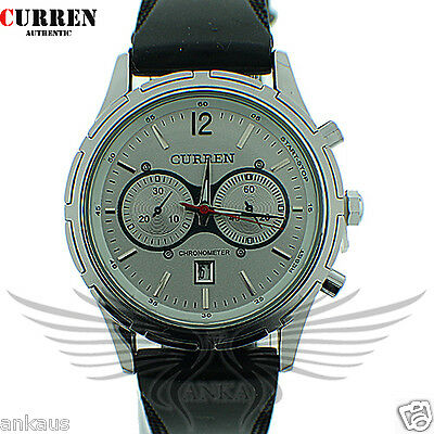 Elegant & Sporty Curren Brand New Men's Quartz Wristwatch WCurren8066-RH