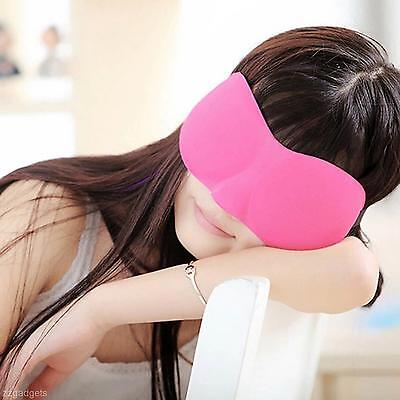 Cool 3D Eye Sleeping Mask Soft Cotton Cover Shade Blinder Blindfold Office Rest