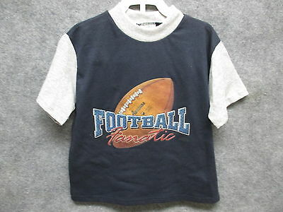 NEW Nyce Kids Football Fanatic T-Shirt & Shorts Set Size 4T Blue & Gray