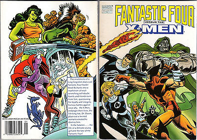 Fantastic Four vs the X-Men TPB Marvel Comics 1990 Chris Claremont Jon Bogdanove