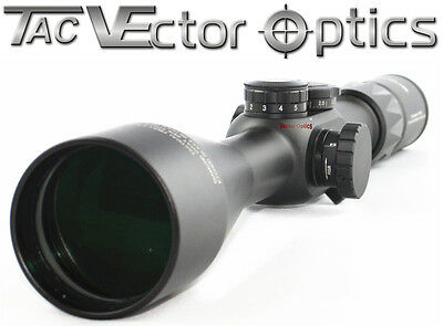 Vector Optics 6-25x56 First Focal Plane Scope MPS Reticle 1/10 MIL Low Profile
